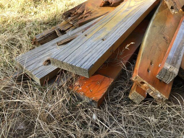 【木材の処分】自分で木材を処分する「メリット」「デメリット」