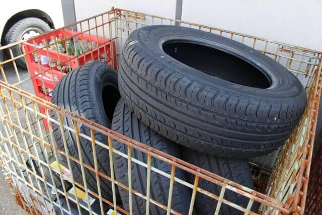 【タイヤの引き取り】廃タイヤを処分する方法