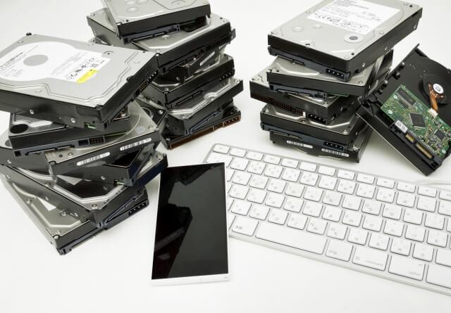 【HDDの破棄方法】ハードディスクを廃棄する方法