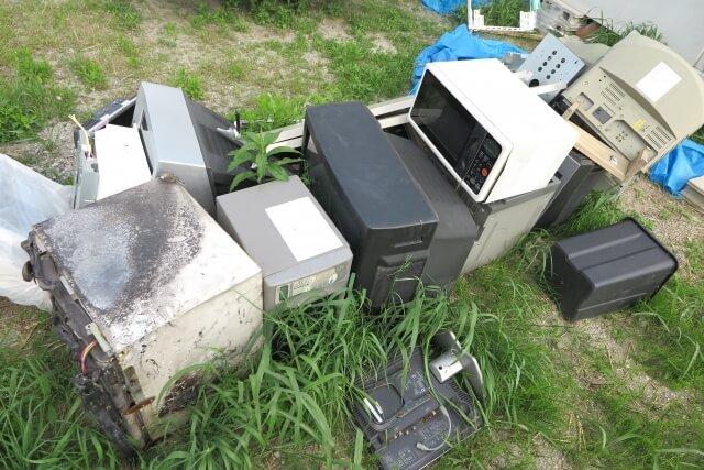電子レンジは家電リサイクル法の対象になる?