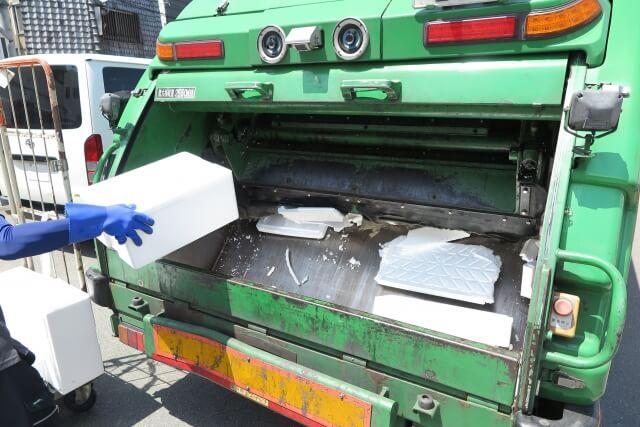 発泡スチロールは自治体ゴミで廃棄が可能?何ゴミになる?