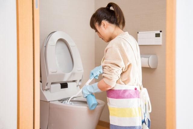 トイレ掃除に使う洗剤の種類と使い分け
